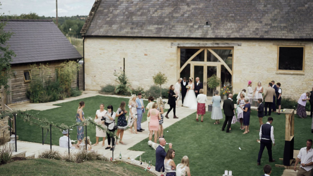 The Barn at Upcote Wedding