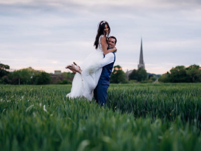 GREAT TYTHE BARN SPRING WEDDING